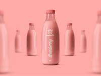 Cowmilk Bottle Design