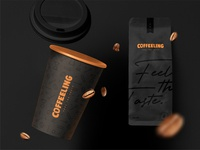 Coffeeling - Paper Cup and Pouch