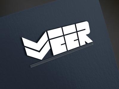 Veer Logo Design Mockup