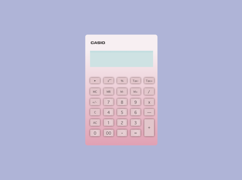 CASIO calculator app