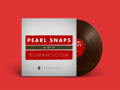 Pearl Snaps #3: Romanticism spotify mixtape indie music mixtapes vinyl texture wood cover art