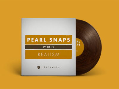 Pearl Snaps #4: Realism cover art wood texture vinyl mixtapes music indie mixtape spotify
