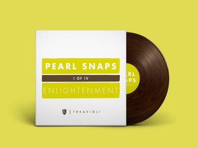 Pearl Snaps #1: Enlightenment cover art wood texture vinyl mixtapes music indie mixtape spotify