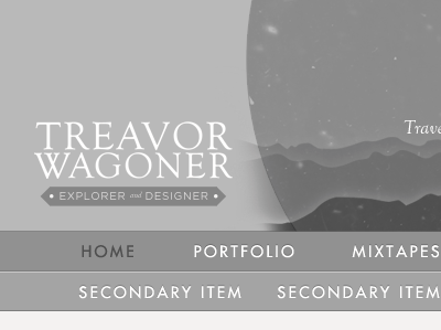 Site header (2) illustration header website grayscale bw