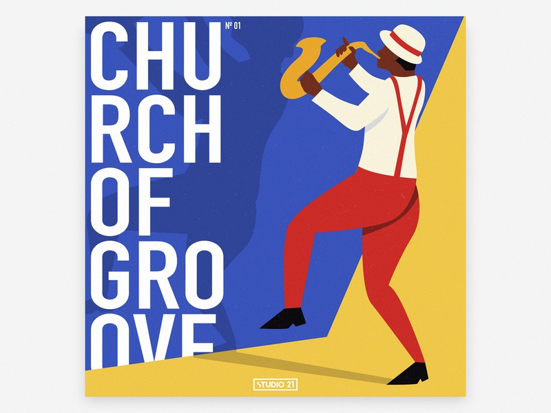 Groove church | poster illustration poster design