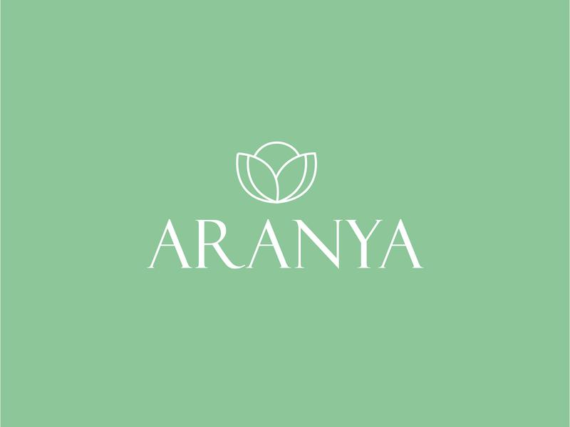 Aranya Retreats Logo logo designs design grids grid design grid layout grid logo grid graphic designer flat branding logo design logo graphic design
