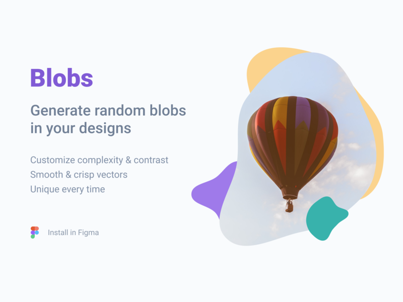 Blobs for Figma generator curves smooth svg plugin figma blobs