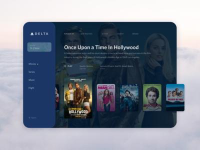 Delta Studio UI concept