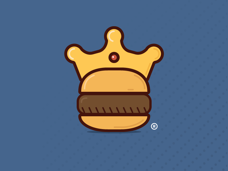 Burger King Redesign burger king redesign restaurant logo food