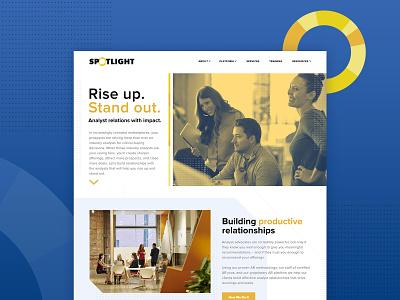 Putting Spotlight in the spotlight relations analyst spotlight design website ui