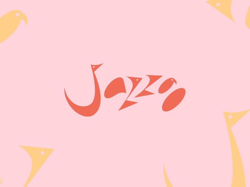 Another one pink branding missouri kansas city typography type bird logo concept design zoo jazz