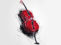 Drawing Cello