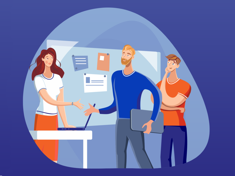 Illustration for bank presentation #2 illustration vector