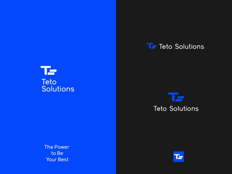 Teto solutions logotype logos logo logomark logotype designer logo design logotype logodesign graphicdesign minimal clean branding