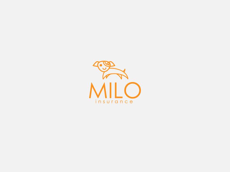 Logotype proposal for Milo insurance logo logotype design logotype designer logomark logo design design logotype graphicdesign minimal clean branding
