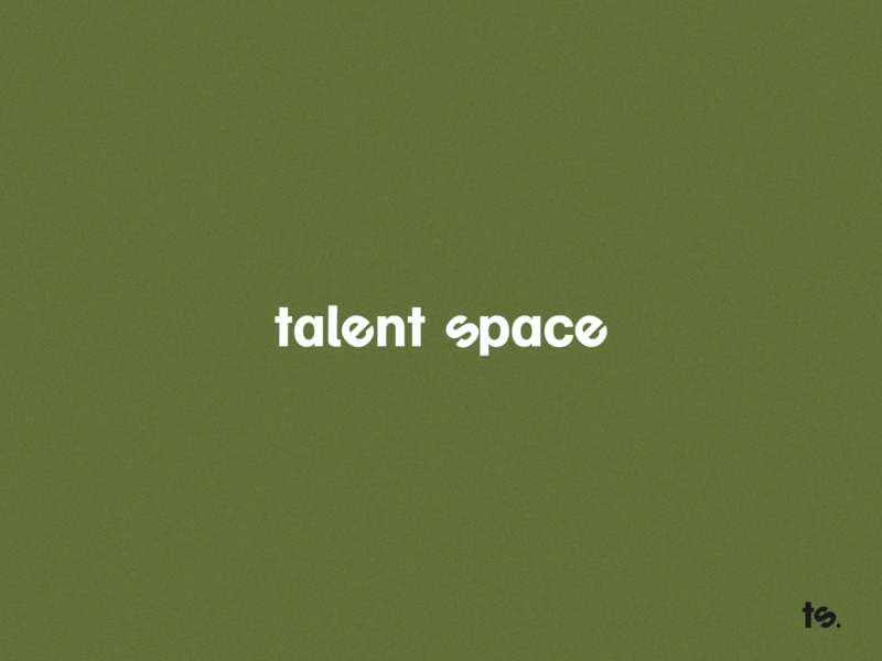 Logotype for recruitment company TalentSpace.lt logos logomark logotype logotype designer logo design logodesign graphicdesign minimal clean branding