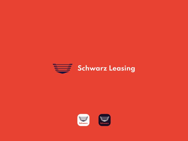Schwarz Leasing Logotype concept design logomark logotype designer logotype logo design logodesign graphicdesign minimal clean branding