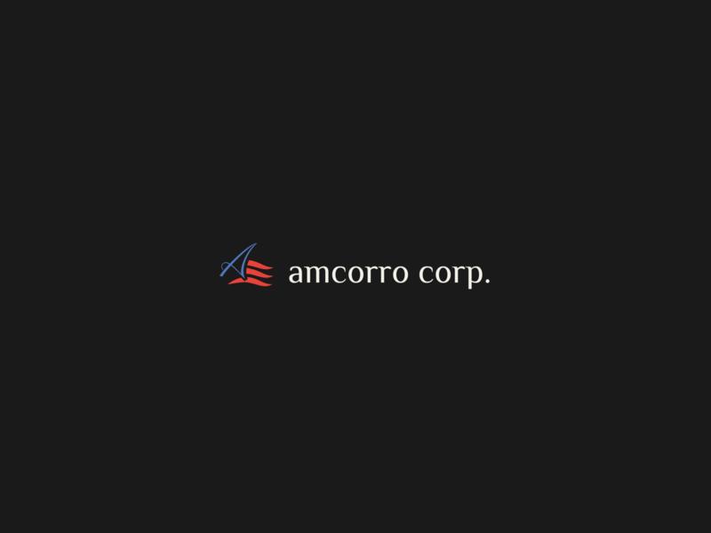 Amcorro corp. logotype concept minimalist logo logos ui logotype designer logomark logo design logotype logodesign graphicdesign minimal clean branding