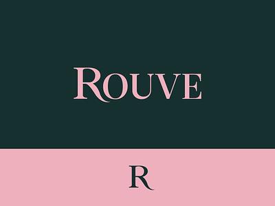Rouve logotype logotypes logos logo typography logomark logotype designer logotype logo design logodesign graphicdesign minimal clean branding