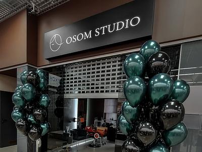Realisation of OSOM STUDIO logotype logotype design logo logotype designer logotype logo design logodesign graphicdesign minimal clean branding