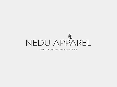 Nedu Apparel logotype design logotype logotype design logomark logotype designer logo design logodesign graphicdesign minimal clean branding