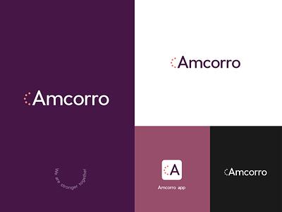 Amcorrp logotype | unused logo proposal logodesign logotype designer logo logomark logotype logo design graphicdesign minimal clean branding