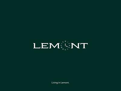 Lemont | logo proposal | unused typography logotype design logomark logo logotype logo design logodesign graphicdesign minimal clean