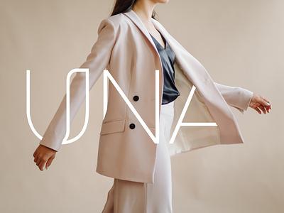 UNA | clothing outlet logotype logotype designer logo logotype logodesign logo design graphicdesign minimal clean branding