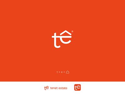 TENET ESTATE logotype proposal minimal logo logotype design logomark logo mark logo logotype logo design logodesign minimal clean branding
