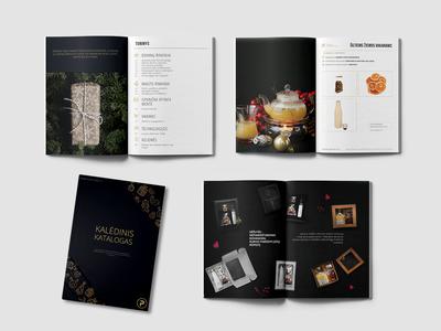 Christmas gifts catalog design