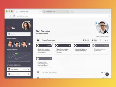 CRM App Design