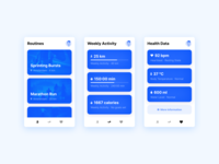Navigation Mobile Running App