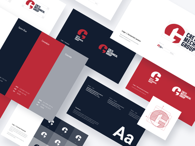 Crete Mechanical Group typography visual identity design elements style guide style rebranding logo design logo identity design identity graphic design design branding design branding brand identity brand design brandbook brand