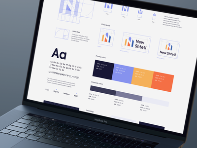 New Shtetl Branding font design elements visual identity typography style guide style rebranding logo identity design graphic design design logo design identity branding design branding brand identity brand design brandbook brand