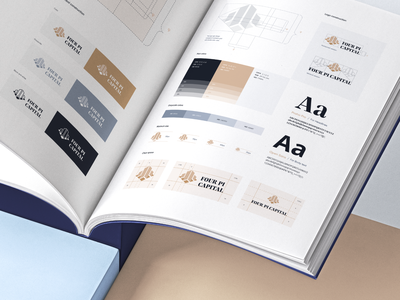 Investment Agency Branding Guide font typography rebranding style guide style identity design graphic design visual identity logo design finance financial agency logo design branding design brand branding brand identity brandbook identity brand design