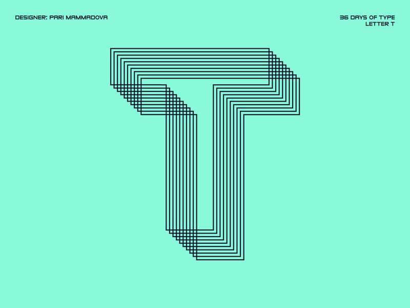 36 Days of Type — Letter T