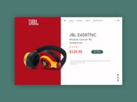 JBL - Single Product Page