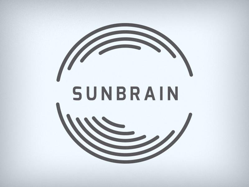 Sunbrain Design Logo creativity openness clarity brain slovenija slovenia identity personal design studio sunbrain
