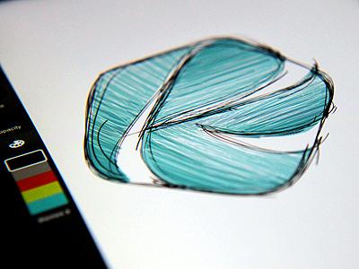Work in progress (iPad sketching)