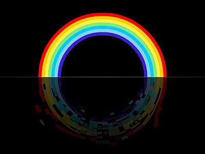 Rainbow Disintegration