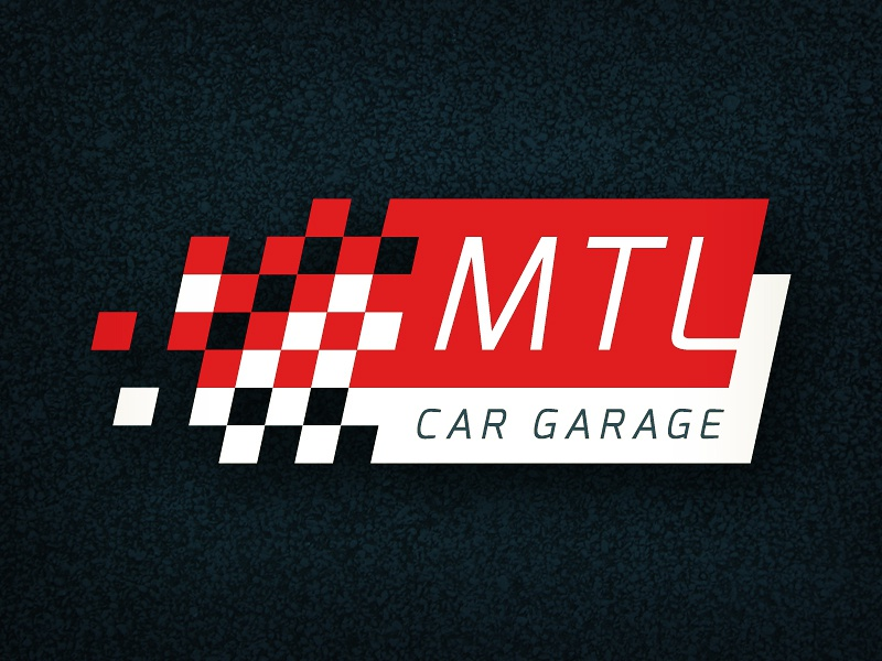 Mtl car garage logo proposition 2 by mitja grebenjak for Garage auto plus herblay