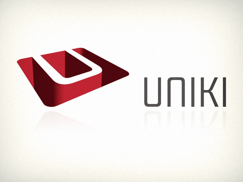 Uniki logo logo slovenia tech it uniki interactive