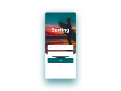 Surf app concept.