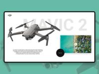 Mavic 2 Website / Redesign 1