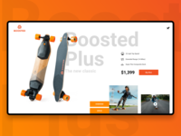 Boosted Plus Website / Redesign 2