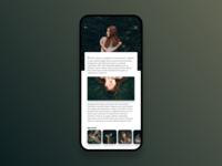 Blog App Concept.