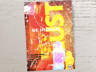 A conceptual poster