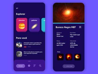 Astron - Learn Astronomy UI
