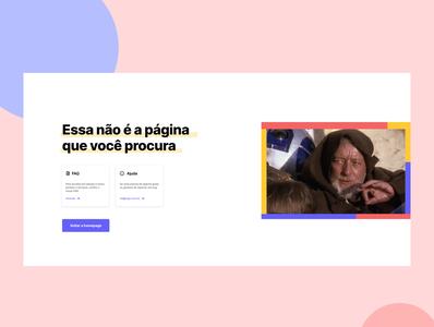 Error 404 Page UI