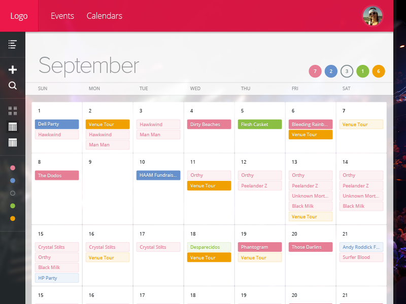 Calendar Booking Icon : Booking calendar month by ethan leon dribbble